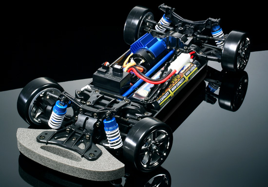 Bumper Stickers For Cars >> 1/10 R/C TB-02D Drift Spec Chassis Kit
