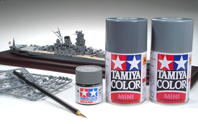 the perfect paint for your model ship these colors are ideal for painting 1700 scale waterline series models as well as ship models of other scales - Tamiya Color